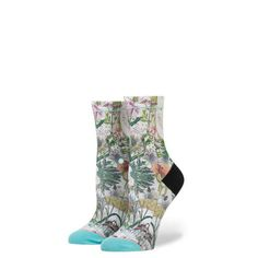 #FashionVault # #Girls #Accessories - Check this : Stance Chaotic Flower girls Socks for $ USD