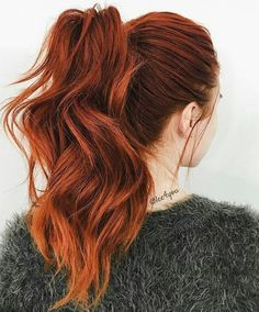 Best And Amazing Red Hair Color And Styles To Create This Summer; Red Hair Color And Style; Giner And Red Hair Color; Auburn Hair Copper, Red Copper Hair Color, Ginger Hair Color, Cool Hair Color, Color Red, Ginger Hair Dyed, Deep Auburn Hair, Deep Red Hair Color, Hair Color For Spring