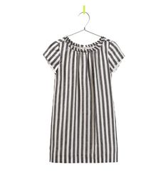 Image 1 of VERTICAL STRIPE DRESS from Zara