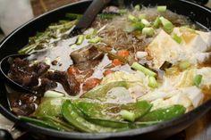 Beef sukiyaki-Filipino style