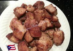 Mi Esquina Boricua y Más: carne de cerdo frita