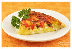 Tomato, Zucchini and Fontina Frittata Recipe | MyGourmetConnection
