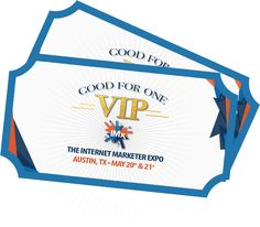 Two (2) VIP IMX Tickets (For YOU