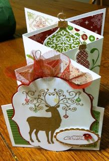 These are the Cascade Cards we made at class tonight! I love them...  and mystampin friends too! Always a fun time creating! www.createwithgwen.com