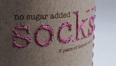 diabetic socks packaging graphic design