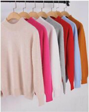 Womens Slim Knitted Half-Turtleneck Cashmere wool Jumper Pullover Soft Sweater - Jumpers - Ideas of Jumpers - Womens Slim Knitted Half-Turtleneck Cashmere wool Jumper Pullover Soft Sweater Price : Cashmere Jumper, Cashmere Wool, Turtleneck, Crop Top Sweater, Long Sleeve Sweater, Pullover Sweaters, Women's Sweaters, Sleeveless Hoodie, Sweaters For Women