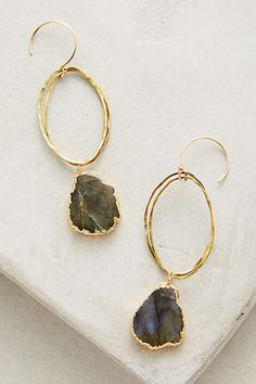 Anthropologie Agate Drops