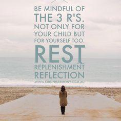 Reflection, Parenting, Mindfulness, Calm, Consciousness, Childcare, Natural Parenting