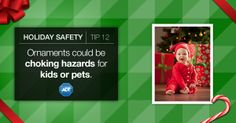 Prevent a #hazard before it becomes a temptation for your loved ones. #HolidaySafety #HappyHolidays #ADT #StaySafe