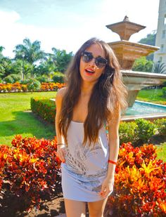 A #Heaven Like Place? #Tropical #Gardens! See my #outfitoftheday in one of my favorite gardens at http://www.clubfashionista.com/2013/06/tropical-garden.html. #travel #costarica #tourism #fashionista #fashion #style