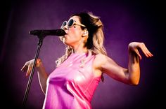 Marina and The Diamonds performing at the Hultsfred Festival in Hultsfred, Sweden - 16 June 2012