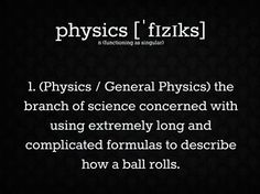 Physics funny college subjects