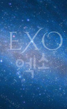 Unduh 80 Background Powerpoint Exo Gratis