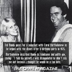 Treat yourself with a true reborn of the old classics and become a part of the biggest true crime family out there! Bizarre Stories, Scary Stories, Famous Serial Killers, Ted Bundy, Criminology, Family Outing, Lucky Girl, True Crime, Looking Back