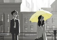 Imagem de how i met your mother, himym, and ted mosby Ted Mosby, Movies Showing, Movies And Tv Shows, Ted And Tracy, Yellow Umbrella, Himym, Fan Art, I Meet You, Cultura Pop