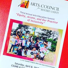 attended the Arts Council for Monterey County's Arts Education summit & met the wonderful group of artists/arts educators💖 Thank you for the opportunity! & support to make PLAY FULL GROUND happen🙌 #artscouncilformontereycounty #arts4mc #artseducation #leapgrant #playfullground #thankful #communityart #csumb #salinas #montereylocals #csumblocals - posted by PLAY FULL GROUND https://www.instagram.com/playfullground - See more of CSUMB in Monterey, CA at http://csumblocals.com