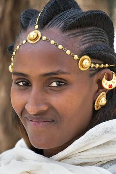 tigrigna woman, ethiopia | traditional african culture