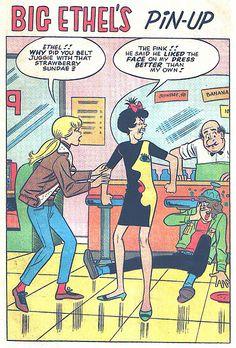 Big Ethel's Pin-Up, Archie Comic Publications, Inc.  https://www.pinterest.com/citygirlpideas/archie-comics/