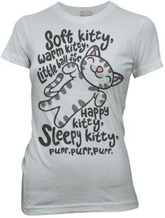 ThinkGeek :: Soft Kitty Babydoll  I want it!!