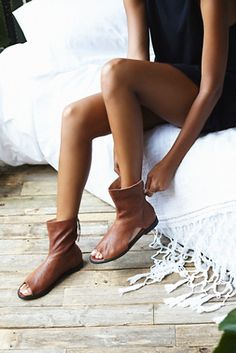 011d400ebef7 Bring a touch of edgy fashion to your warm weather wardrobe with the Free  People Ridge Runner! This gorgeous leather sandal is made even more  stunning with ...