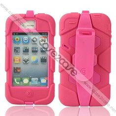 24981d56b36 Griffin Survivor case for iphone 4&4s Pink Iphone 4, Iphone Cases,  Slipcovers