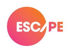 """Escape"" by Thinkscapegroup: Bronze Winner - Logo Design Category - Monthly Design Award June 2012 Positive And Negative, Negative Space, Design Awards, Logo Inspiration, Logo Design, Positivity, Logos, Fill, June"