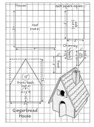 The plan for my gingerbread house. We\'ll begin construction on ...
