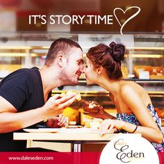 Pairs are made in heaven. But stories are made inbetween bites! #Loveisintheair