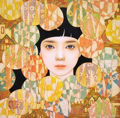 その眼差しの虜!凛とした女性の美しい姿に魅せられる、中原亜梨沙さんのステキ作品 | アート 日本画・浮世絵 - Japaaan