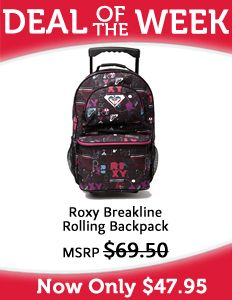 Roxy Shadow View Backpack (Neon Berry) $42 | Cute outfits ...