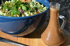 The Tasty Alternative: Healthy and Hearty Summer Salad with Homemade Honey Balsamic Vinaigrette