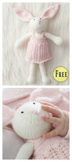 Bunny Rabbit Free Knitting Pattern