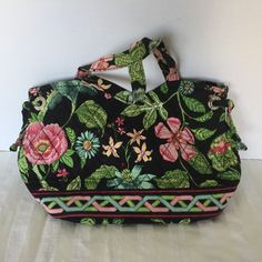 Vera Bradley Botanica Purse Sherry Side Tie Bag Floral  VeraBradley   Handbag Vera Bradley Purses 1062b6ec78fc0