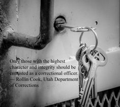 From a motivational speech on leadership by Rollin Cook, Executive Director of the Utah Department of Corrections. Class Quotes, Leader Quotes, Correctional Officer Quotes, Law Enforcement Wife, Police Quotes, Childhood Quotes, Department Of Corrections, Thought For Today, Blue Line Flag