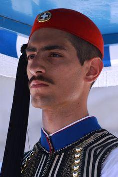 Men In Uniform, Greeks, Beautiful Islands, Captain Hat, Army, Heart, Travel, Gi Joe, Viajes