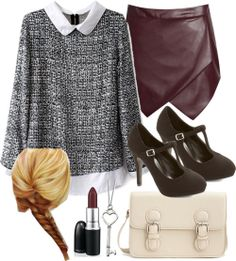 Lydia Martin Inspired London Trip Outfit by veterization featuring heart jewelry