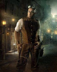 steampunk man | Steampunk Man