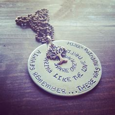 Hey, I found this really awesome Etsy listing at https://www.etsy.com/listing/115984304/hand-stamped-copper-and-silver-avett