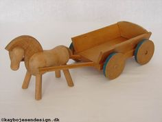 Kay Bojesen, paard en kar