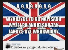 Very Funny Memes, Haha Funny, Funny Quotes, Best Memes, Dankest Memes, Jokes, Polish Memes, Dark Sense Of Humor, Weekend Humor