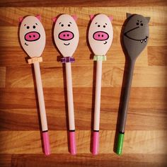 wooden spoon pig craft 1000 images about storytelling on story 5783