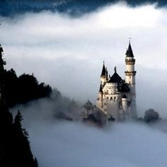 Fairy Tale Fantasy, Neuschwanstein Castle, Bavaria, Germany by jackluke.I want to go see this place one day. Please check out my website Thanks. Castle In The Sky, Beautiful Castles, Beautiful Places, Amazing Places, Beautiful Couple, Beautiful Horses, Places To Travel, Places To See, Travel Destinations