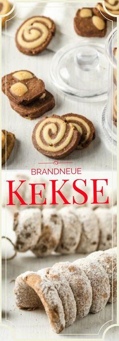 Wir haben wieder viele brandneue Keks Rezepte für euch! Schaut sie euch an, die kleinen köstlichen Wunderwerke!