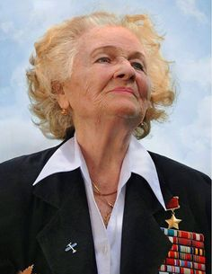 "Nadezhda Popova. ""The Nazis called them 'Night Witches' because the whooshing noise their plywood and canvas airplanes made, reminded the Germans of the sound of a witch's broomstick. The Russian women who piloted those planes, onetime crop dusters, took it as a compliment. In 30,000 missions over four years, they dumped 23,000 tons of bombs on the German invaders, ultimately helping to chase them back to Berlin. Any German pilot who downed a ""witch"" was awarded an Iron Cross. #WorldWar2"