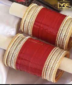 Punjabi Bridal Chura - New Design Bridal Chura Best Price Online Indian Bridal Outfits, Indian Bridal Fashion, Indian Wedding Jewelry, Indian Jewelry, Indian Weddings, Bridal Bangles, Bridal Jewelry, Wedding Chura, Wedding Hair