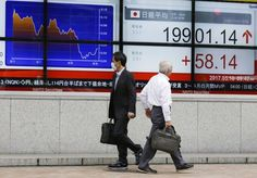 SEOUL, South Korea/May 10, 2017 (AP)(STL.News) — Stocks and the dollar mostly fell Wednesday after U.S. President Donald Trump made the surprise move to fire FBI Director James Comey, and as weak Chinese data added to concern that the economy is sl...