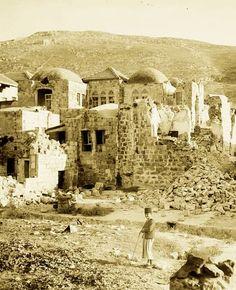 Nablus-نابلس: NABLUS - The earthquake of July 11, 1927