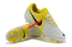 online store 9829a a4c54 Nike CTR360 Maestri III FG ACC Soccer Cleats - White Yellow Black  62.78