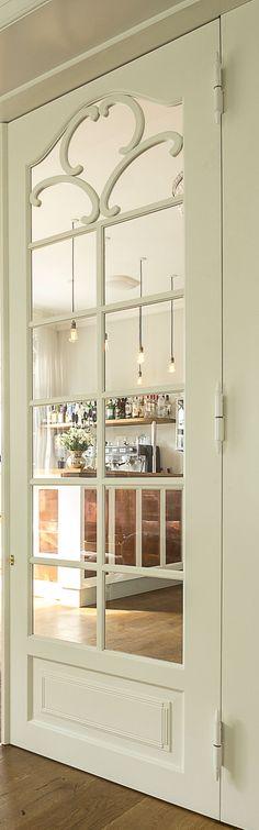 Folding French Door | Vahle Doors | Interior design in the restaurant of Hotel Stella Maris, Svendborg