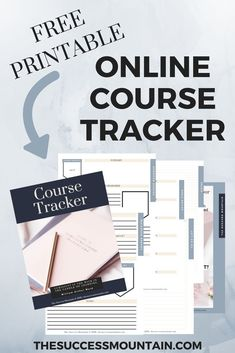 Need an online course tracker to track all of the things to do in your online courses? Sign up for this free printable! #freeonlinecourses #printables #entrepreneur #coursetracker #onlinecourse #free #digitalprintable #productivity #timemanagement| The Su